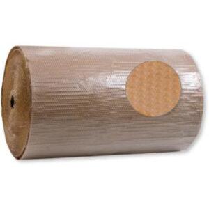 Boblefolie med papir
