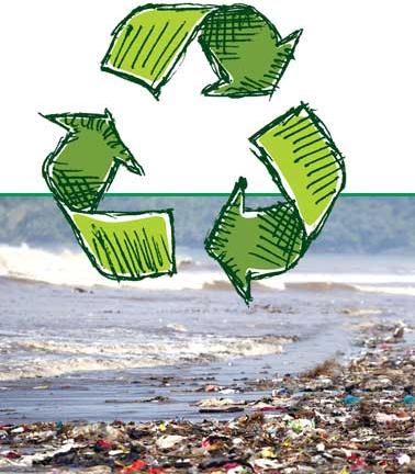 Plast i havet mindre